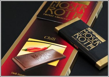 Moser Roth chilli chocolate