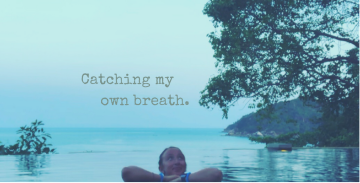 Catching my own breath by Nadya SJ