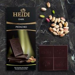 Heidi pistachio chocolate bar