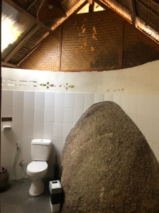 The rock in my bungalow
