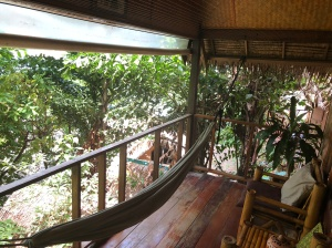 The hammock of Bungalow #8