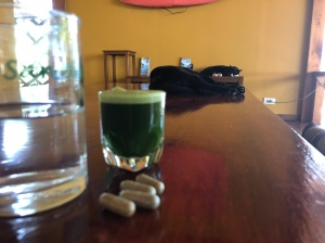 Wheatgrass and supplements