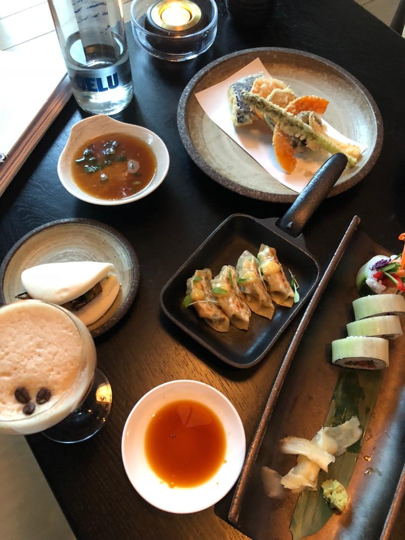 Issho tapas style dishes