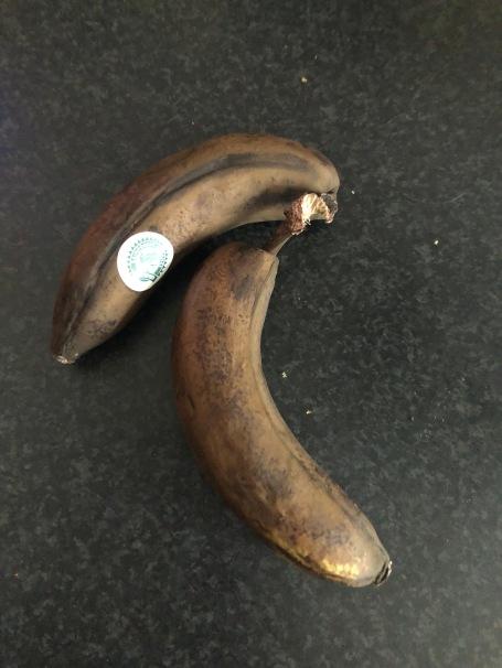 rotten bananas