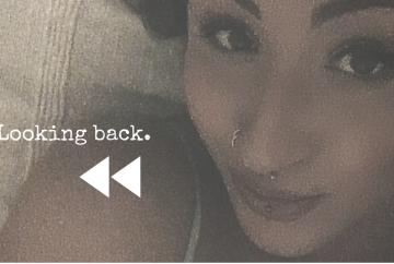 Looking back, by Nadya SJ thumbnail