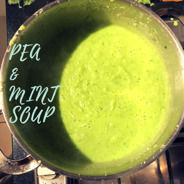 Pea & Mint soup