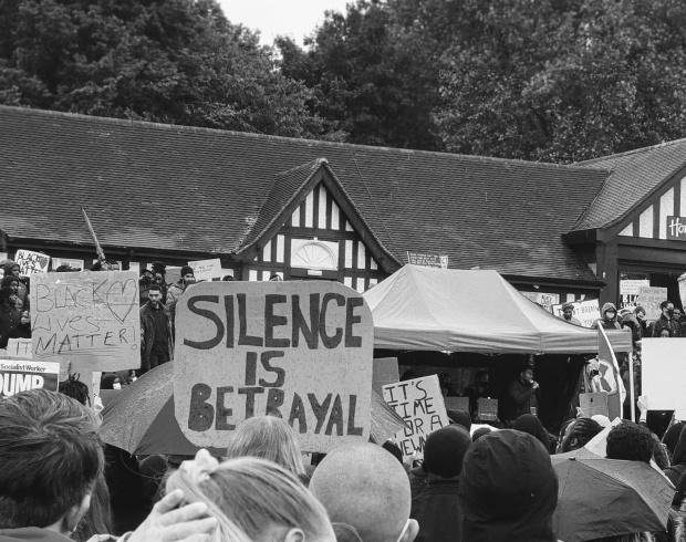 Nottingham BLM silence is betrayal